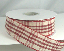 wired christmas ribbon 1 12 or 9 20 yards 100 polyester - Wired Christmas Ribbon